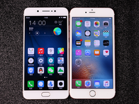 尖Phone:vivo X7Plus对比iPhone6s Plus
