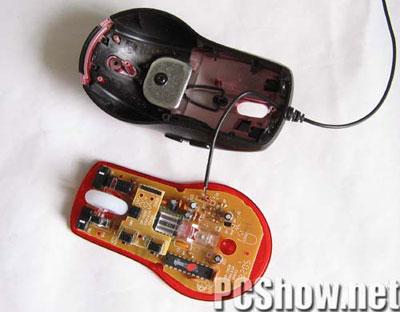 光电鼠标内部电路图