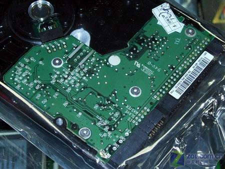 pata硬盘pcb电路板特写