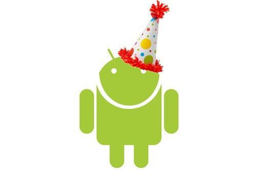 Android五岁 市场份额75%稳居全球第一