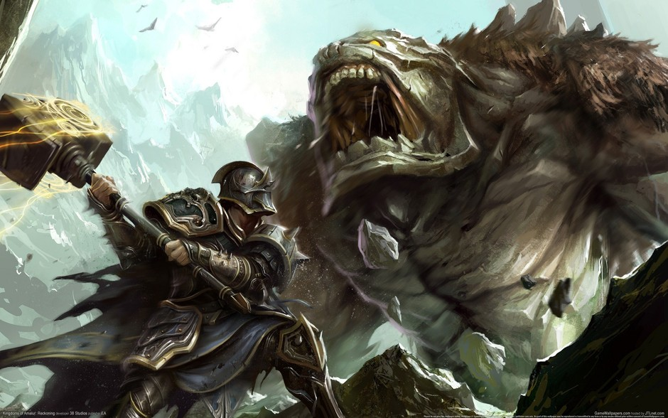 《阿玛拉王国:惩罚(Kingdoms of Amalur: Reckoning)》由38 Studios和Big Huge Games联合制作,《上古卷轴3:晨风》和《上古卷轴4:湮灭》的首席设计师Ken Rolston将担任本作的设计工作,绘制了《再生侠》漫画Todd McFarlane将为本作进行艺术设计,而游戏的剧本将交由R.A.