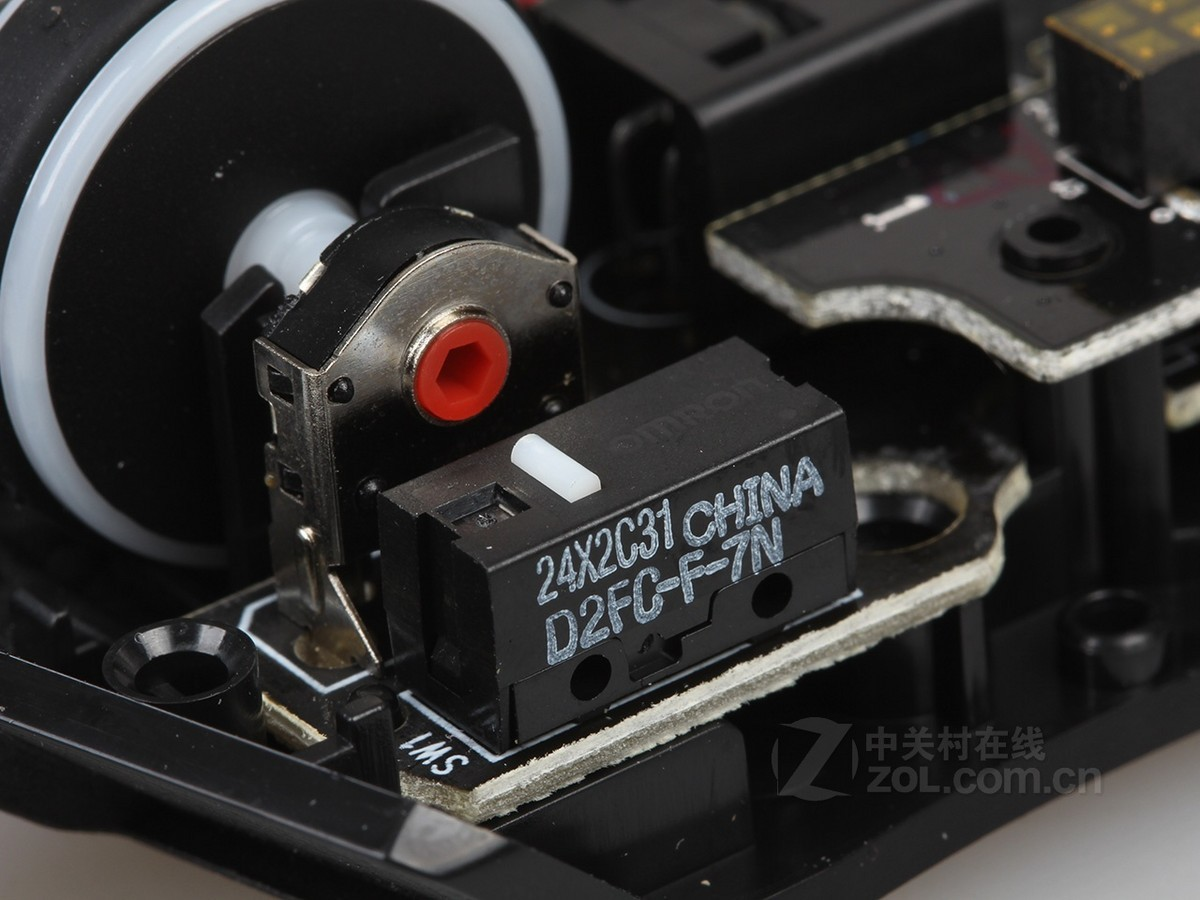 【高清图】 雷蛇(razer)razer 金环蛇2013游戏鼠标拆解图 图49