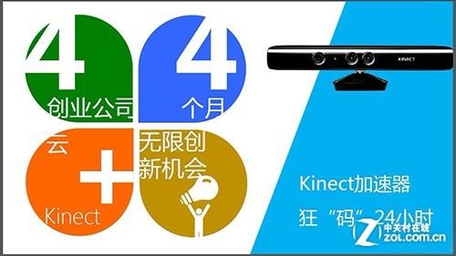 微软将推Kinect for Windows加速器计划