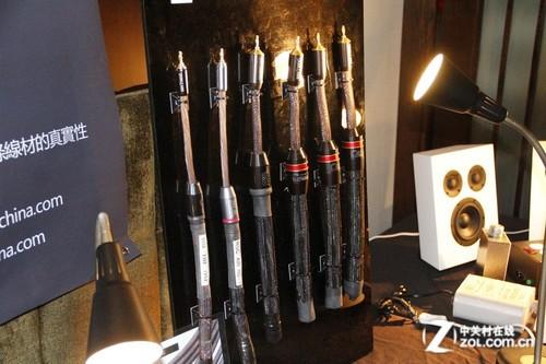 音响展2012:超时空展出顶级HiFi线材