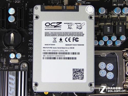全新主控破土而出 OCZ Vector SSD首测