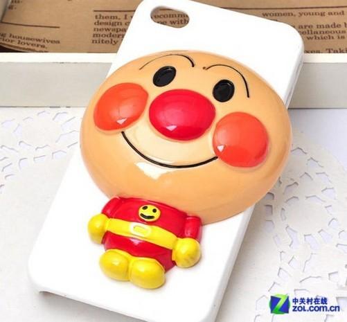 十分可爱 面包超人iphone5保护壳配件