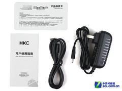 纯白10.1吋宽屏诱惑 HKC X106双核评测