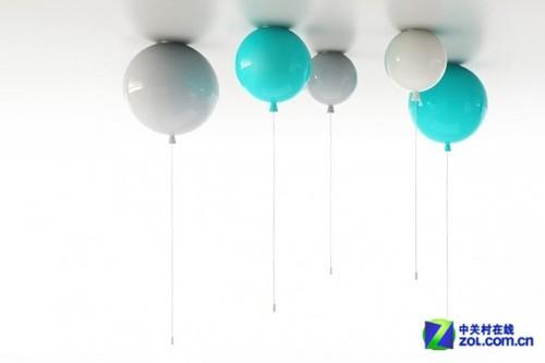 memory系列灯具设计; 气球状memory主题吊灯及壁灯;;   设计师