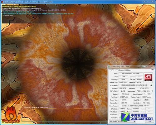 与HD7970同核心 Tahiti架构HD7870首测