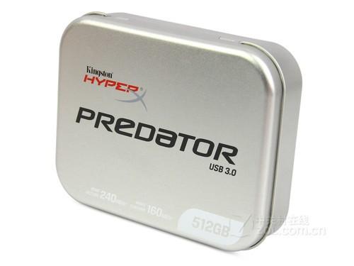 破纪录容量 测金士顿512GB hyperx优盘