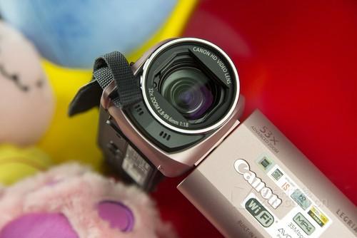 佳能HF R46粉色 镜头图