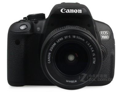 佳能(Canon) EOS 700D 单反套机 (EF-S 18-55mm f/3.5-5.6 IS STM 镜头)