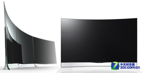 柔性显示技术 LG弯曲OLED电视六月开卖