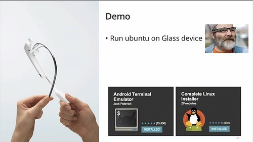 黑客在行动 让谷歌眼镜来运行Ubuntu
