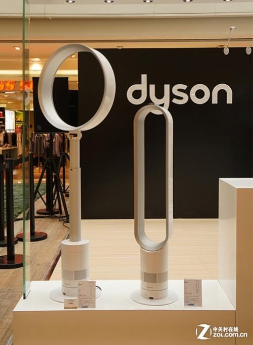 戴森独创的无叶风扇产品展示图片
