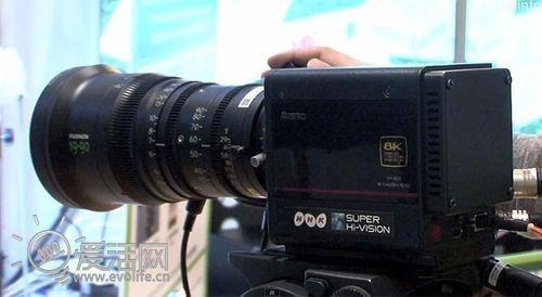 4K不是极限 日本NHK展示8K小型摄像机