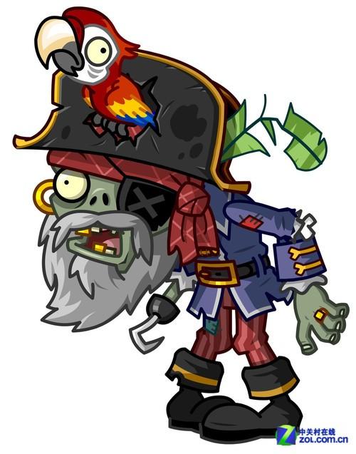 海盗僵尸简笔画