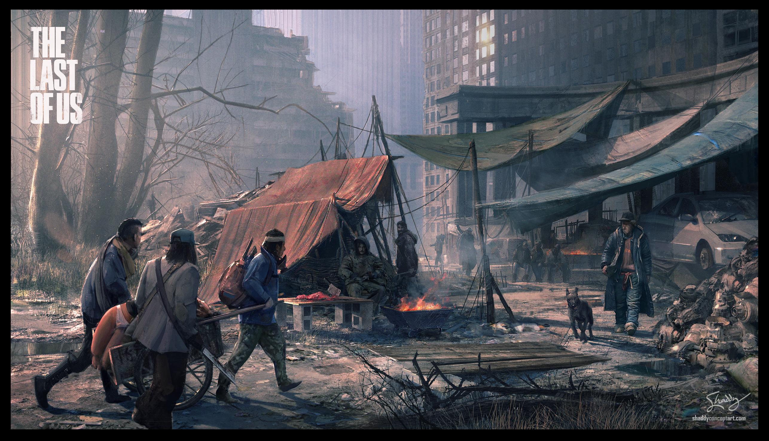 余生浮影《美国末日》游戏原画赏-第17页-游戏频道