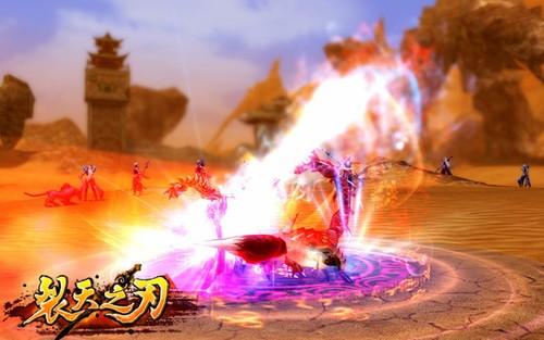 《裂天之刃》天宫神话客户端  赢水晶熊猫