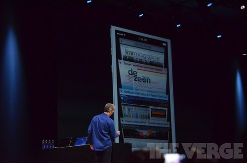 iOS7系统发布:更新Safari 加入AirDrop
