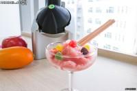 美味健康无负担 水果冰淇淋机开箱试用