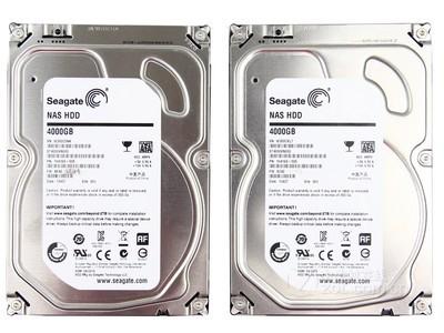 希捷 NAS HDD 4TB 5900转 64MB(ST4000VN000)