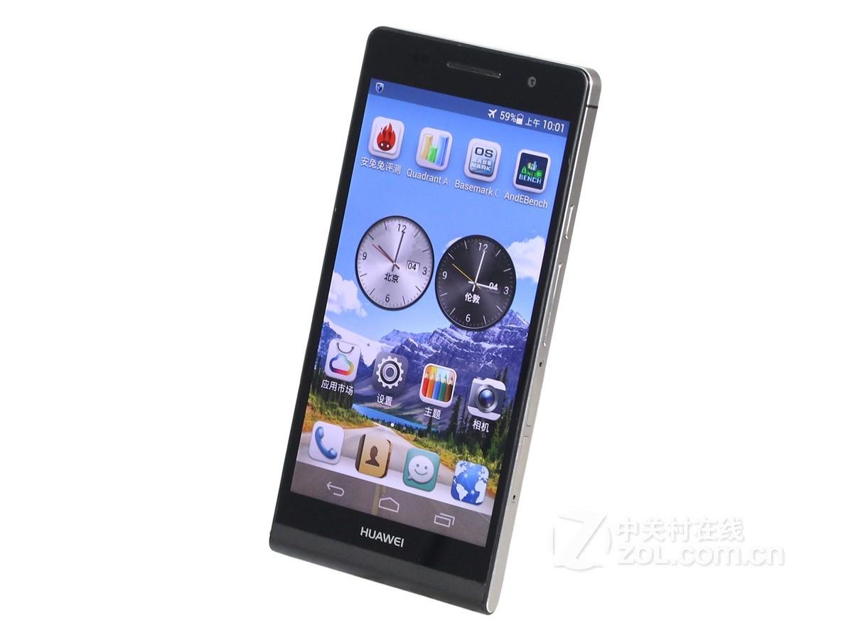 华为手机p7 l00_【高清图】华为(huawei)Ascend P6(P6-U00/8GB ROM/联通3G)主图1 图1-ZOL ...