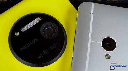 摄影谁能胜出? 诺基亚1020对照HTC One