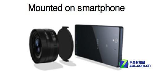 改变摄影 索尼将推出内置传感器的镜头