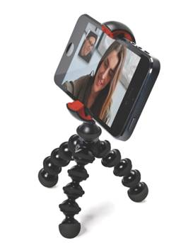 手机好伴侣  宙比再发手机脚架新品