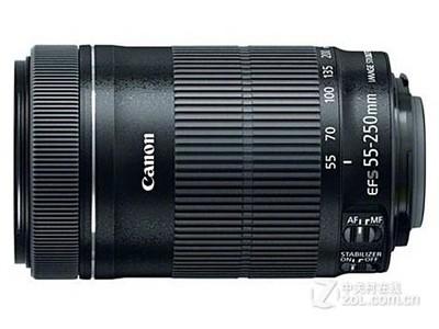 【限时抢购】佳能 55-250mm f4-5.6 STM新款超声波马达长焦镜头