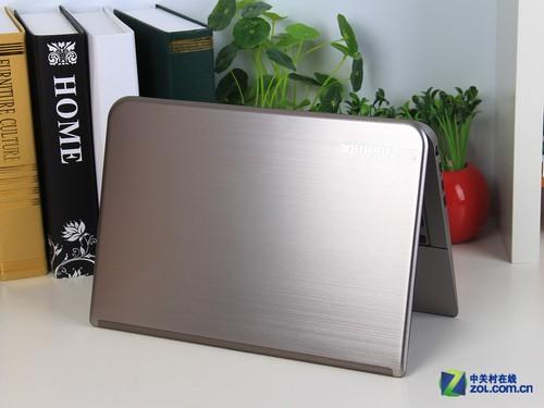 金属拉丝轻盈圆润 东芝M40-A笔记本开箱图赏