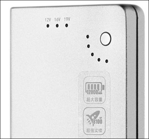 电源电压指示灯和电量显示