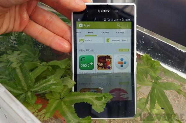 One Sony理念首秀 索尼Xpeira Z1抢先看