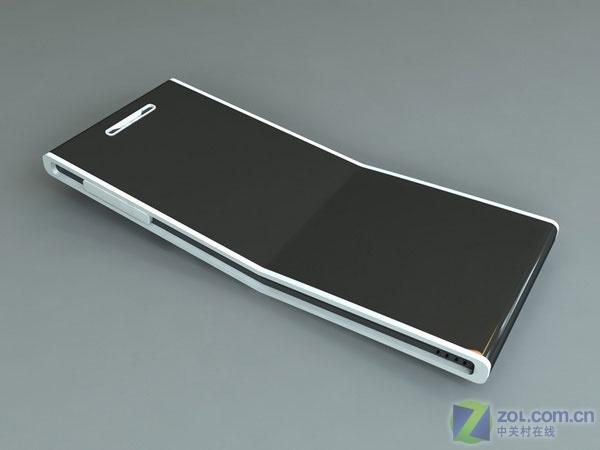 【高清图】 超薄大屏幕指纹识别 精致概念手机亮相图2
