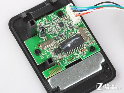 技嘉gm-m8600游戏鼠标底座主电路板特写