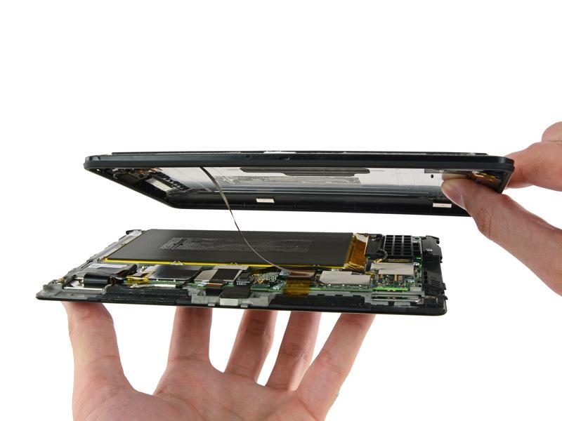 专业度极高!Kindle Fire HDX 7拆解