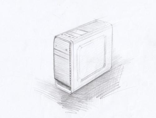 硕一某新款机箱设计草图
