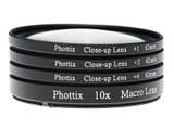 Phottix +1,+2,+4,10X微距镜头(特写镜头) 77mm