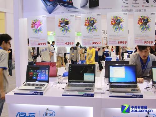 eMEX 2013:华硕携笔记本和平板精品亮相