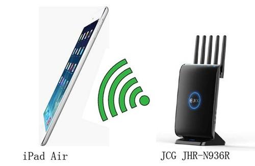 搭配双频无线路由 iPad Air完美WiFi上网
