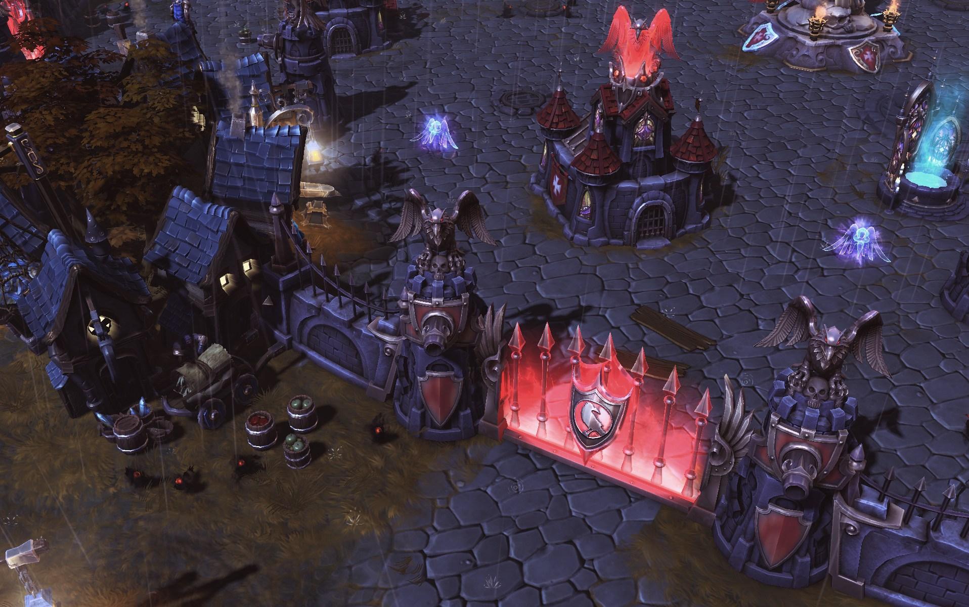 游戏频道图片库 暴雪moba《风暴英雄》战场细节场景图