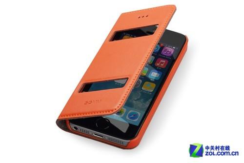 副视窗新品 GGMM iPhone 5s真皮套115元