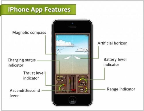0:用iphone可遥控纸飞机-中关村在线
