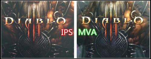 25张图片论左右 MVA露示器与IPS露示器对比运用感受