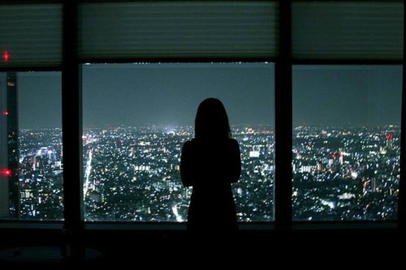 【高清图】 一个人看世界的灯火阑珊 唯美意境摄影图4