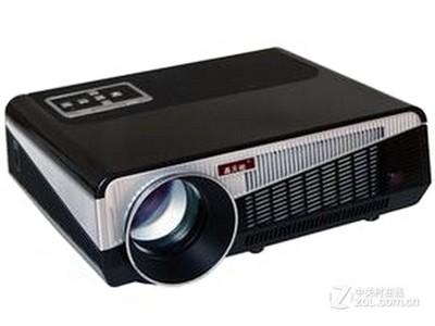 轰天砲 LED-86+ 小巧+性价比高+内置安卓系统 单片LCD技术,智能高清投影机