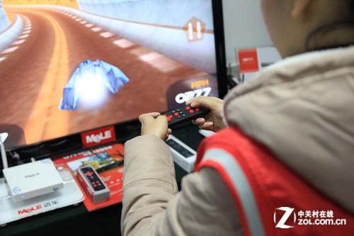 家庭 平台 差异化 回顾 代理商大会/迈乐R5遥控器支持空鼠和游戏手柄