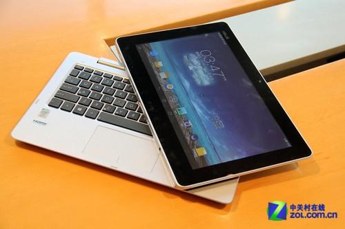 Win8装置卓副体系 华硕TX201拆卸分本评测