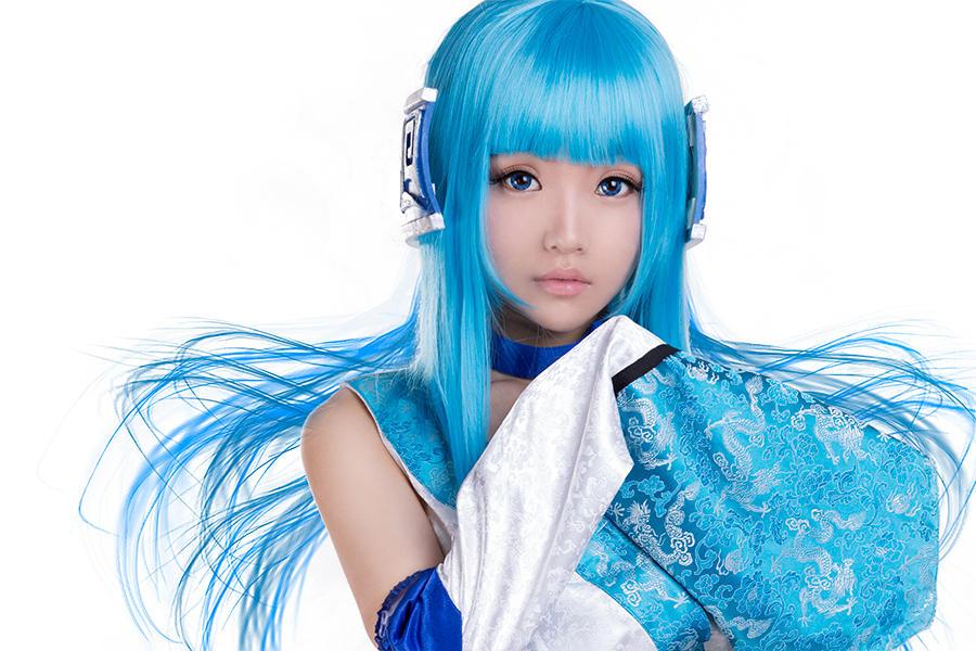 仙剑三龙葵cosplay 七夜娃娃新年贺图